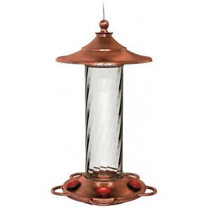 Classic Brands More Birds® Glory Hummingbird Feeder Copper Glory Copper 4ea/14 oz