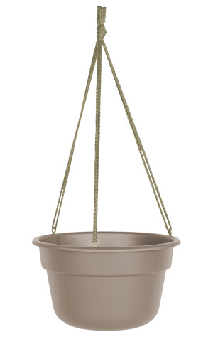Bloem Dura Cotta Hanging Basket Planter Pebble Stone 12ea/12 in