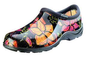 Sloggers Waterproof Comfort Shoe Spring Surprise Black 1ea/Size 10