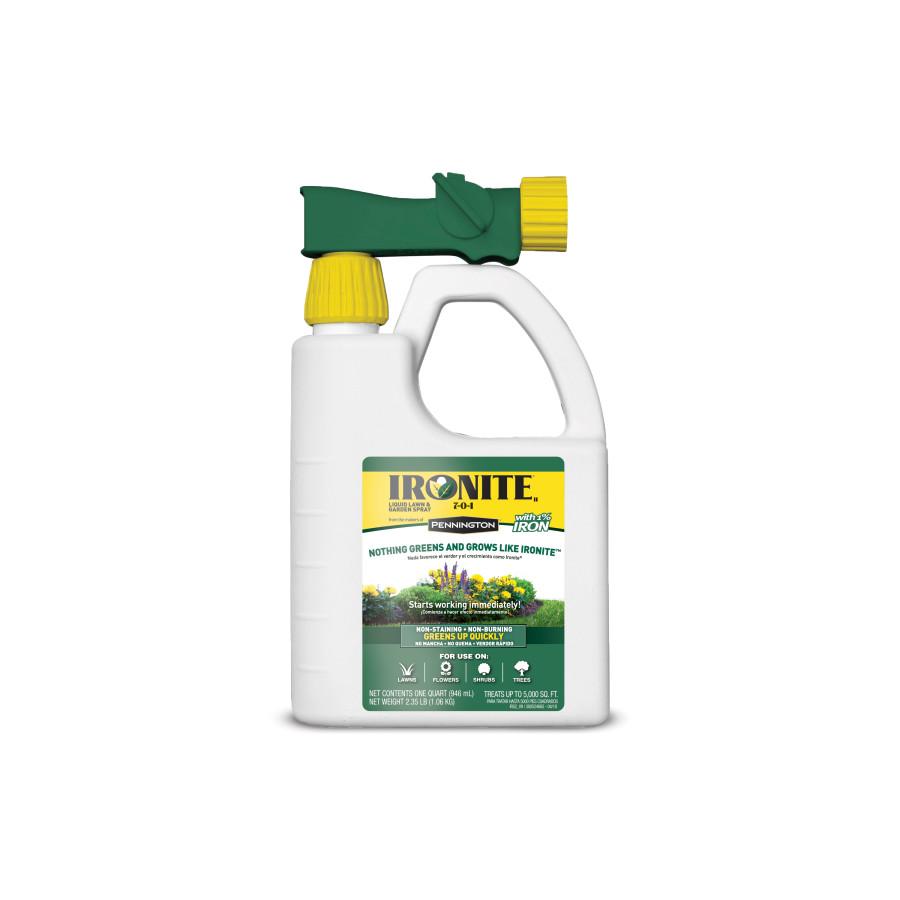 Ironite Plus Liquid Lawn & Garden Ready To Spray 7-0-1 4ea/32 oz