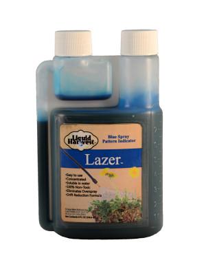 Sanco Liquid Harvest Lazer™ Blue Spray Pattern Indicator Marker Blue 6ea/8 oz