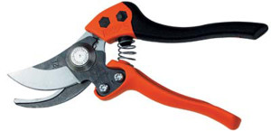 Bahco Ergo Bypass Secateur Pruner With 1-1/4in Cut Capacity Large 2ea