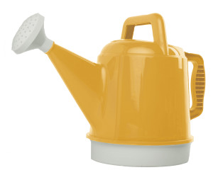 Bloem Deluxe Watering Can Earthy Yellow 6ea/2.5 gal