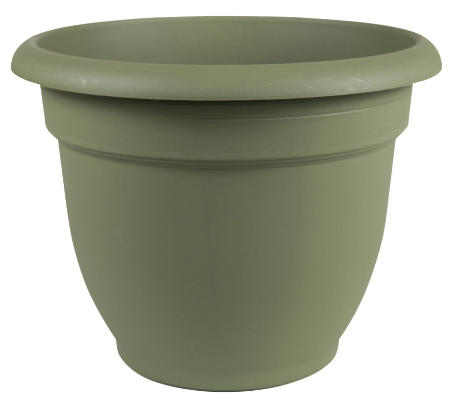 Bloem Ariana Planter with Grid Living Green 10ea/10 in