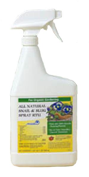 Monterey All Natural Snail & Slug Repellent Ready To Use Organic 12ea/32 fl oz