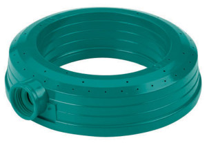 Gilmour Stationary Circular Sprinkler Ring Poly Green 12ea/Small