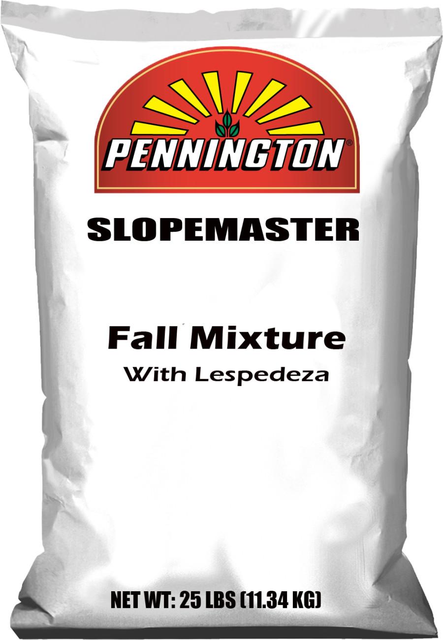 Pennington Slopemaster Erosion Control Seed Mix Fall With Lespedeza 1ea/25 lb