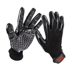 Harris Happy Horse Pet Grooming Glove 12ea/Universal Size