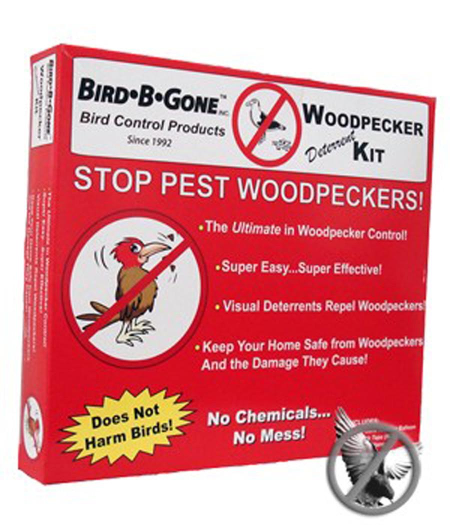 Bird-B-Gone Woodpecker Deterrent Kit 6ea/50 ft