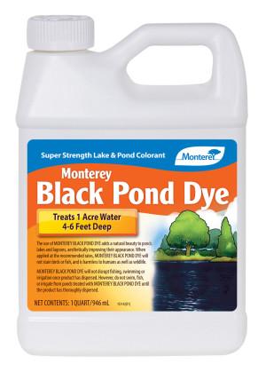 Monterey Pond Dye Lake & Pond Colorant Concentrate Black 12ea/32 oz