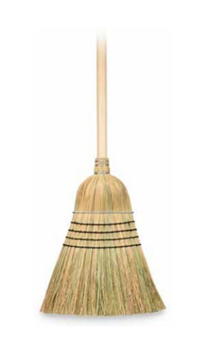 Harper Warehouse Corn Broom Heavy Duty 6ea
