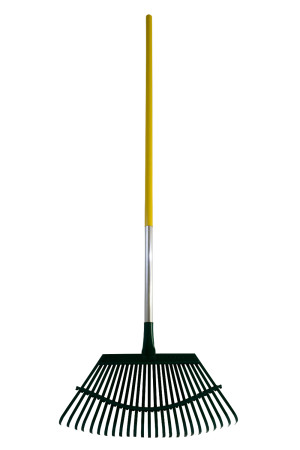 Flexrake Lawn Rake with 19in Flex-Steel Head with AlumiLite Handle 6ea/48 in