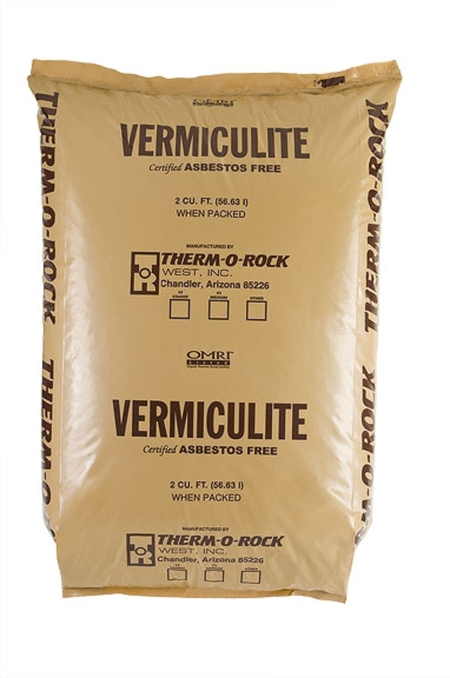 Therm-O-Rock Vermiculite Organic 2 Coarse 5ea/2Cuft