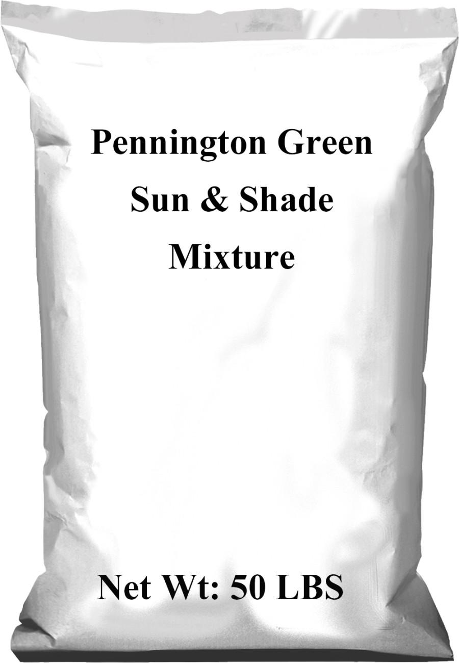 Pennington Green Sun & Shade Mixture 1ea/50 lb