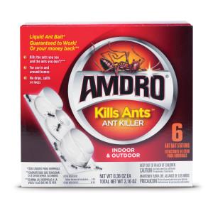 Amdro Kills Ants Liquid Ant Bait Stations 12ea/6 pk
