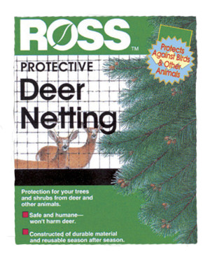 Ross Deer Netting & Bird Plant Protection Black 9ea/7Ftx100 ft