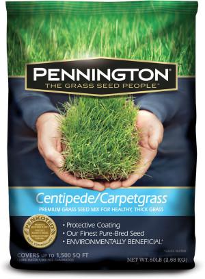Pennington Centipede/Carpetgrass Penkoted Grass Seed 1ea/50 lb