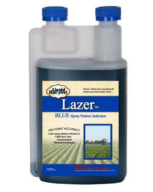 Sanco Liquid Harvest Lazer™ Blue Spray Pattern Indicator Marker Blue 12ea/32 oz