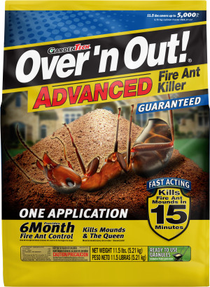 Over 'n Out Advanced Fire Ant Killer Granules 4ea/11.5 lb
