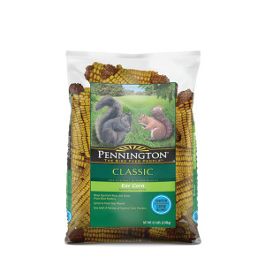 Pennington Classic Ear Corn Squirrel Food 4ea/6.5 lb