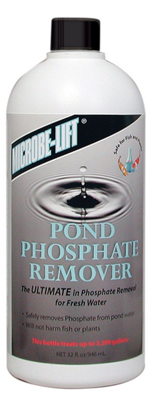 Ecological Laboratories Microbe-Lift Pond Phosphate Remover 12ea/32 oz