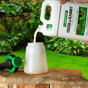 Liquid Fence Deer & Rabbit Repellent Concentrate 4ea/1 gal