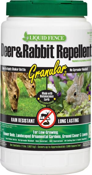 Liquid Fence Deer & Rabbit Repellent Granular 6ea/2 lb