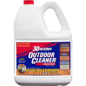 30 Seconds Outdoor Cleaner Algae Mold & Mildew Concentrate 2ea/2.5 gal