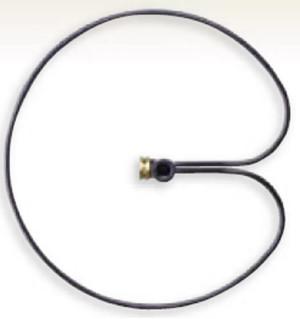 Lewis Ring Base Sprinkler Stand Black 10ea/1/2 in