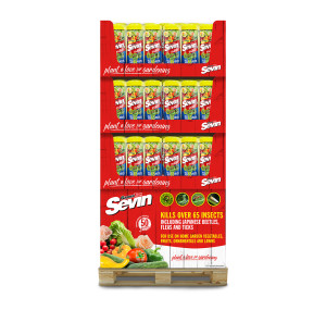 Sevin 5% Dust Insect Killer Shaker Bottle Quarter Pallet 36ea/3 pk 1 lb