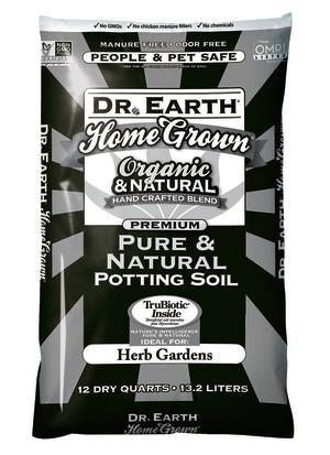 Dr. Earth Home Grown Pure & Natural Potting Soil 1ea/12 qt