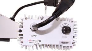 Denova Adjustable Lighting Fixture with 100 Watt Hortilux Bulb 1ea