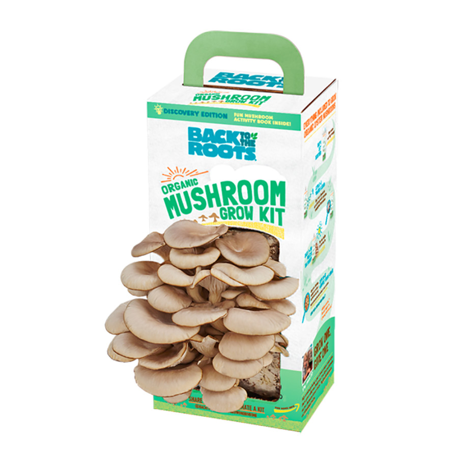 Back to the Roots Organic Mushroom Grow Kit Discovery Edition 9ea