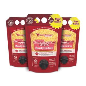Sweet Seed Hummingbird Nectar Eco-Fresh Bag Dye-Free 9ea/1.5 l