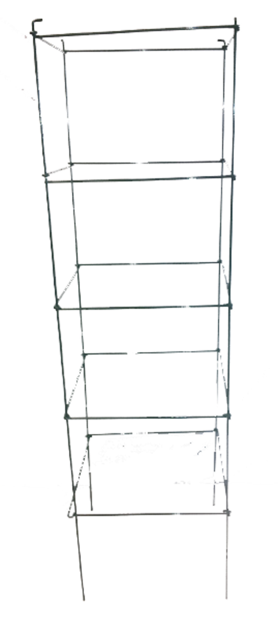 Midwest Wire Works Square Cage 4-Leg Heavy-Duty