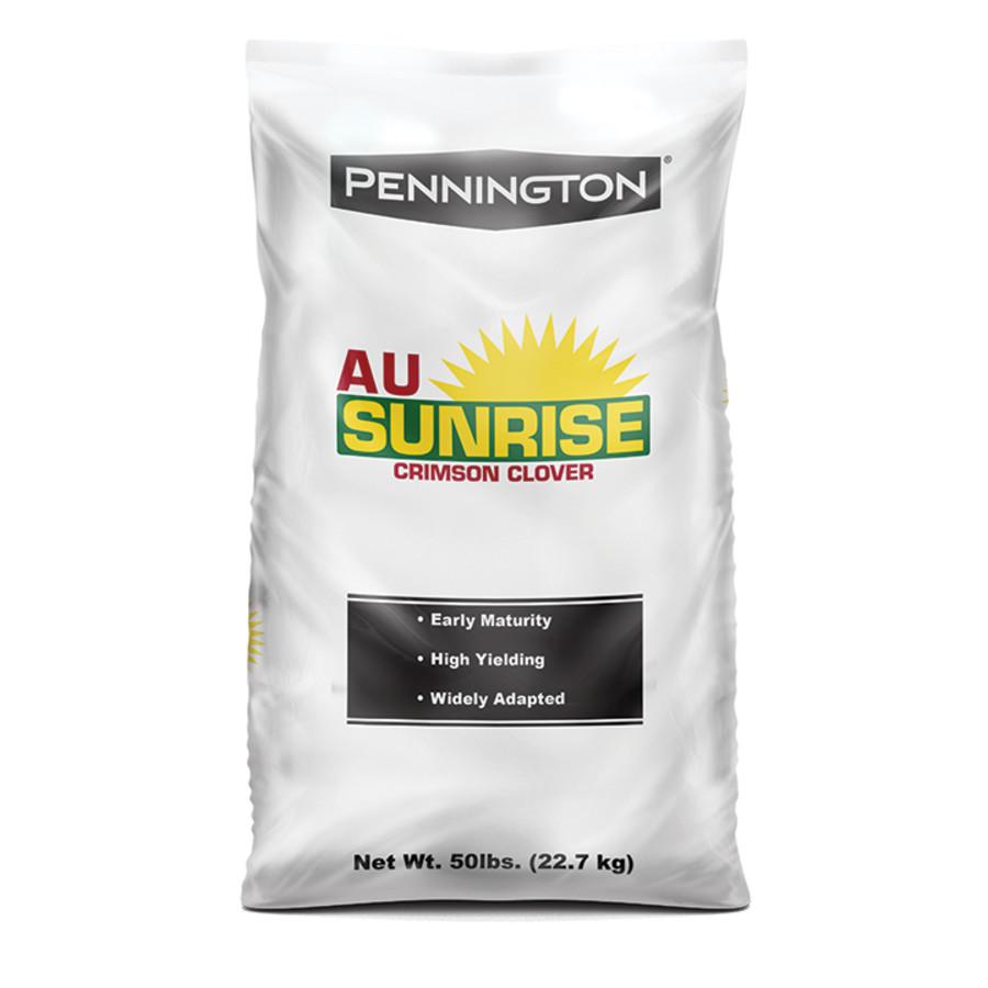 Pennington Crimson Clover Seed AU Sunrise 1ea/50 lb