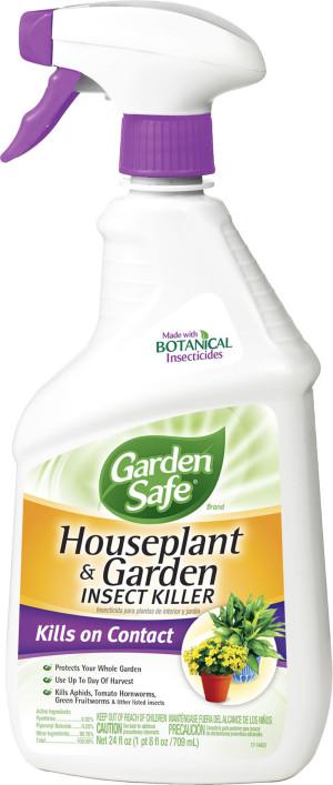 Garden Safe Houseplant & Garden Insect Killer Ready To Use 4ea/24 oz