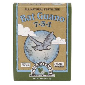Down To Earth Bat Guano Natural Fertilizer 7-3-1 12ea/4 oz