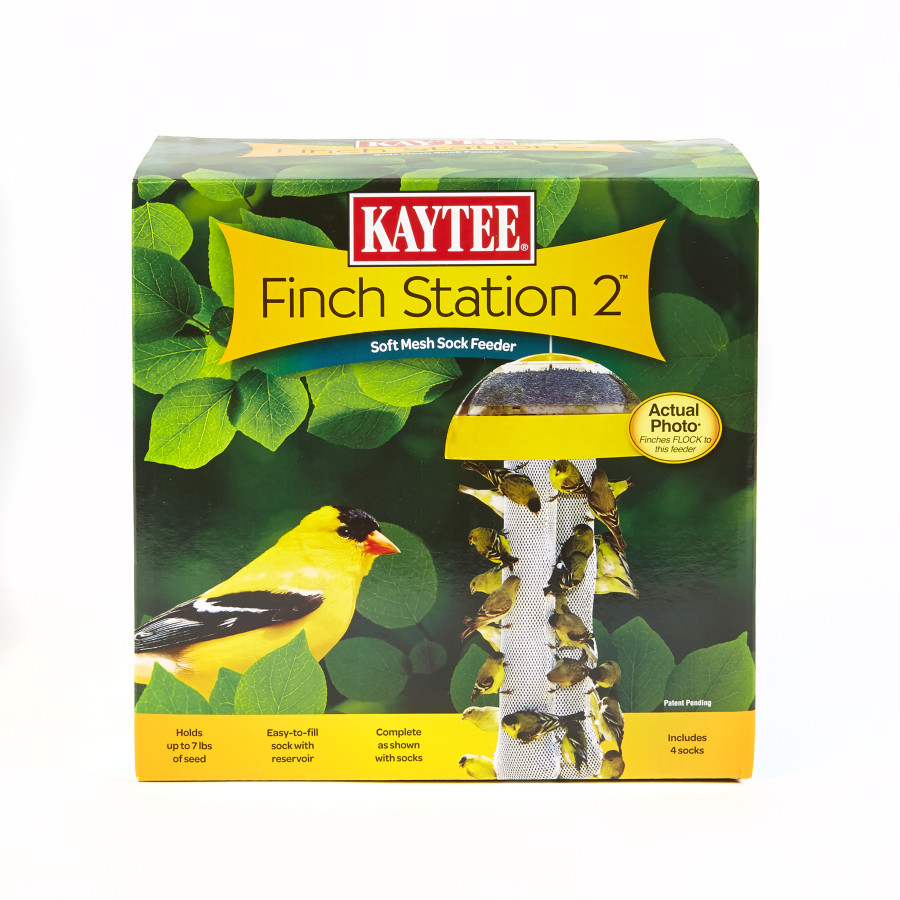 Kaytee Finch Station 2™ Soft Mesh Sock Feeder 4ea/4 Socks