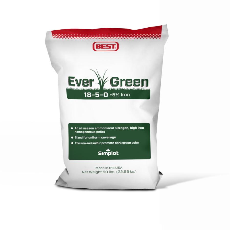 Best EverGreen Fertilizer 18-5-0 1ea/50 lb