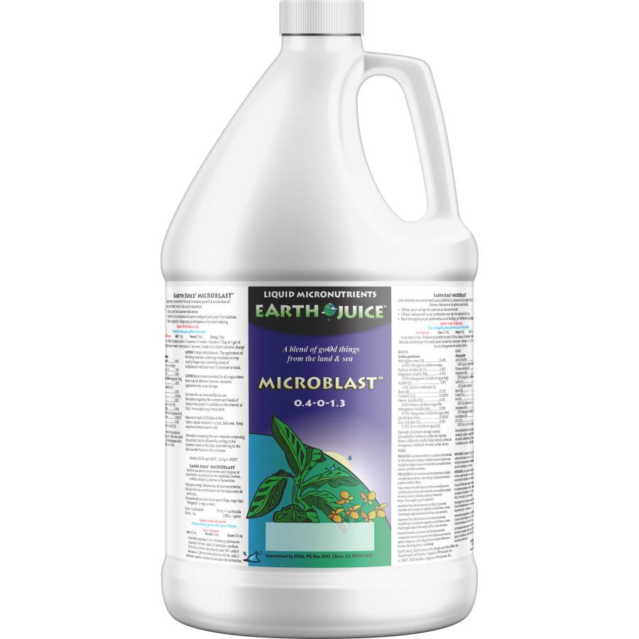 Earth Juice MicroBlast Liquid Micronutrients 4ea/1 gal