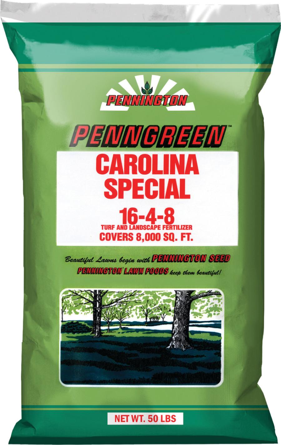 Pennington Green Carolina Special 16-4-8 1ea/50 lb