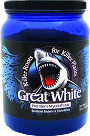 Plant Revolution Great White Mycorrhizae with Beneficial Bacteria 2ea/32 oz