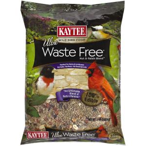 Kaytee Ultra Waste Free Nut & Raisin Blend 6ea/5 lb