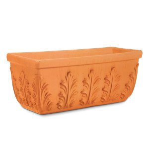 Pennington Window Box Floral Terra Cotta 1ea/14.9 in