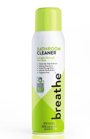 Breathe Bathroom Cleaner Aerosol 6ea/14 oz