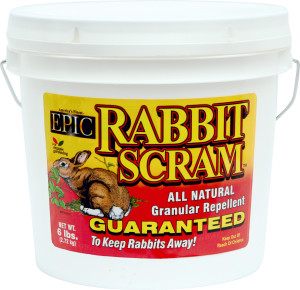 Enviro Rabbit Scram Granular Repellent Bucket 8ea/6 lb