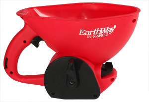 Earthway Medium Capacity Hand Spreader With 1.8 Liter Capacity Red 6ea/1.2 In X 2 In X 4.1 in