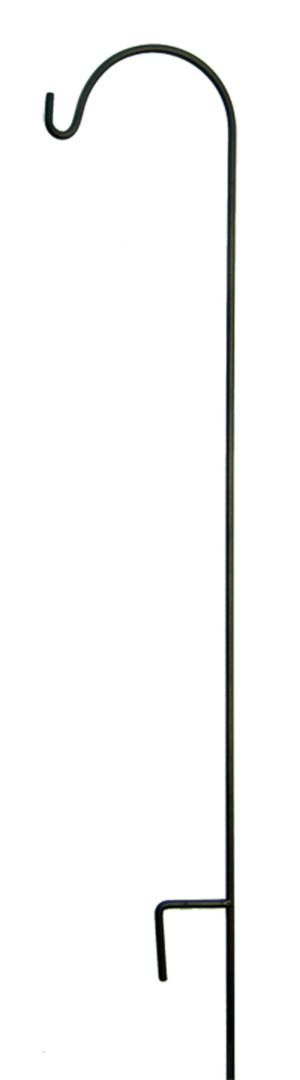 American GardenWorks Tall Hangers Single Black 10ea/90Inx12 in