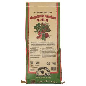 Down To Earth Vegetable Garden Natural Fertilizer 4-4-4 1ea/25 lb